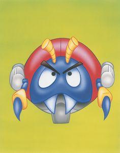 #Motobug 2 from the official artwork set for #SonictheHedgehog on #Sega Genesis and #Megadrive. http://sonicscene.net/sonic-the-hedgehog-game