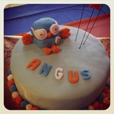 Hoot Cake #kidscakes