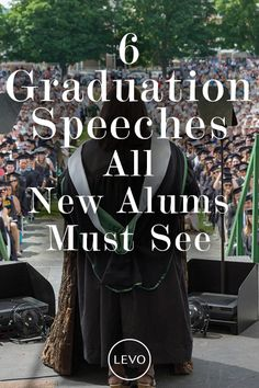 We've rounded up some of this year's best commencement speeches that will hopefully give you the motivation to carry you through the day, week or rest of your career. #graduation