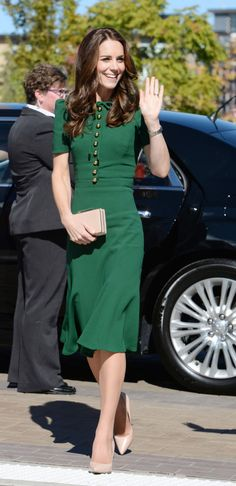 See all the outfits Kate Middleton wore during her Canadian tour:
