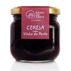 Compota de Cereja com Vinho do Porto