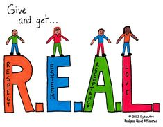 Give and Get REAL - 6 EytanArt designs in posters sold individually focus on reducing bullying and building character and self-esteem. Bullying Posters, Bullying Quotes, Anti Bully Quotes, Anti Bullying Programs, Bullying Lessons, Bullying Prevention, Get Real, Home Schooling, Teaching Kids
