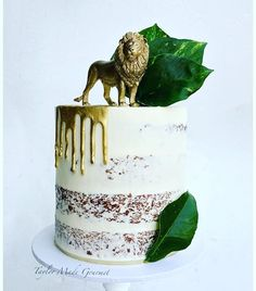 Baby shower ides for boys safari first birthday parties 49 ideas Safari Birthday Cakes, Safari Cakes, Jungle Theme Birthday, Safari Party, Jungle Party, Safari Theme, Jungle Cake, Jungle Safari, Boys First Birthday Party Ideas