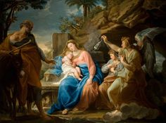 The Rest on the Flight into Egypt (Pompeo Batoni) (1758)