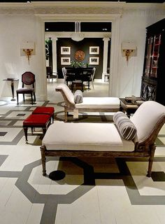 Sophisticated, sublime, classical, chic, traditional, modern, elegant  Mary McDonald Inc for Chaddock..