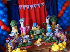Festa Galinha Pintadinha Duvidas e informações www.sonhosdefestas.com.br