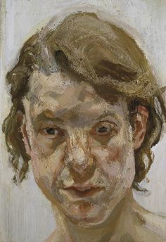 Lucian Freud painted not to recreate an accurate interpretation but was rather interested in the structure of the face