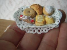 Selection of pastries (photo only)