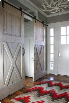 Hanging Barn Door