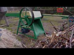 Rębak do gałęzi - YouTube
