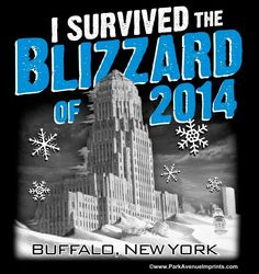 I survived the Blizzard of 2014 - Buffalo, New York.