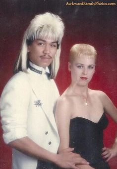 This could have been Ronnie and me if we dated in th 80's