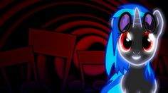 My Little Pony: Friendship is Magic Vinyl Scratch neon wallpaper