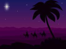 Wisemen Travel To Bethlehem Royalty Free Stock Photos - Image: 1120768
