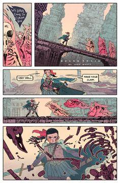 Jake Wyatt's Necropolis