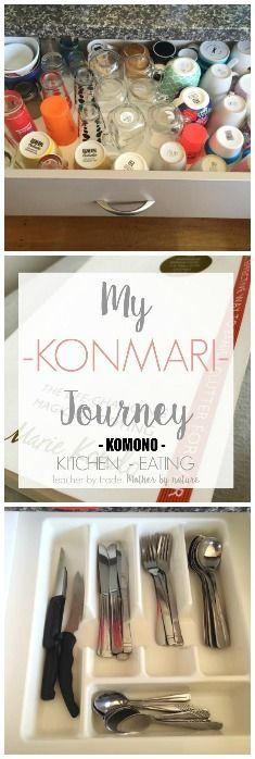 Teacher by trade, Mother by nature: My KonMari Journey: KOMONO: KITCHEN - EATING