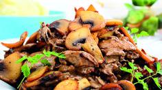Finnbiff Scandinavian Food, Pot Roast, Japchae, Beef, Ethnic Recipes, Recipe, Carne Asada, Roast Beef, Ox