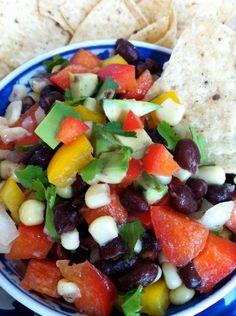 Black Bean Dip (or Salsa or Salad)