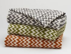 Zigzag Coverlet by Coyuchi Seen on the Today's Show