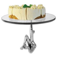 Cake Stand - Woman. Cake Pedestal, Kitchen Art, Let Them Eat Cake, Beautiful Cakes, Fine Dining, Cake Stands, Artisan, Carroll Boyes, Dishes