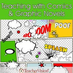 Great classroom resources for teaching with comics & graphic novels!