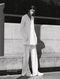 POOJA MOR BY BENJAMIN ALEXANDER HUSEBY STYLED BY CAROLINE-NEWELL FOR THE GENTLEWOMAN FALL WINTER 2015