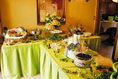 Food Buffet Ideas- how to set up classy buffet. Shower Menus