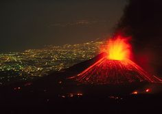 Watch a live volcano erupt- like Mt. Stromboli in Italy, which has been constantly erupting for 2,000 years.