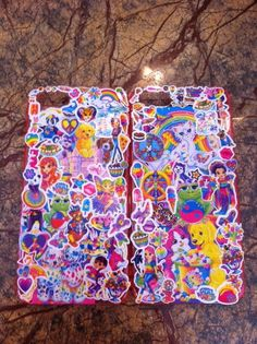 Lisa Frank case - Might have to try this!