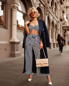 🍶⚓️✨ Top & pant set from Hot Miami Styles 🍶⚓️✨ Top & pant set from Hot Miami Styles Classy Outfits, Stylish Outfits, Fashion Outfits, Fall Outfits, Miami Fashion, Diva Fashion, Looks Style, My Style, Micah Gianneli
