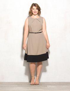 Db Signature™ Plus Size Colorblock Darby Dress