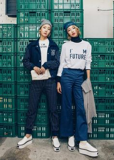 The Fall look book from Korean label, CRES. E. DIM's second line, Dim. E Cres gives me a whole new reason to look forward to the Fall season. I pretty much long for the end of summer just as soon as it begins each year. This take on a modern sportwear school girl mixed with...