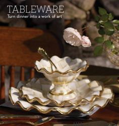 MacKenzie-Childs - Hand painted Dinnerware from MacKenzie-Childs
