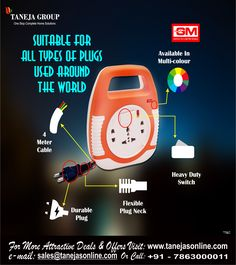 #TanejaGroup DO MULTIPLE TASK IN ONE GO... Website:- http://tanejasonline.com/product-category/electricals-and-appliances/extension-board/
