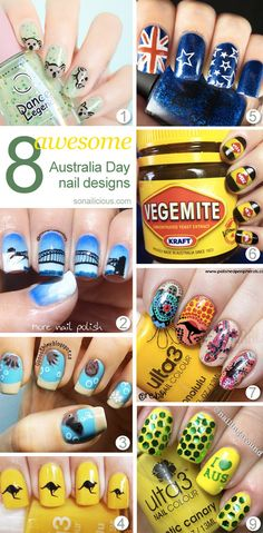 8 Best Australia Day Nails and 8 Facts You Should Know About Australia