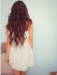 Loose curls #longhair