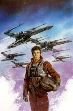 Wedge Antilles! One of my favorite Rogue/ Wraith Squadron pilots.