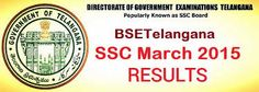Telangana 10th Class Results 2015 Released bsetelangana.org Telangana 10th Class Results
