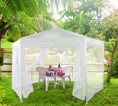 This Hexagonal Garden Marquee Is Ideal For Arts And Crafts Festivals Sporting Events Camping Backyard PartiesBackyard