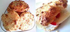 Nybakade söndagsscones |   Blanda samman 2 ägg, 1 dl turkisk yoghurt, 1 dl pofiber, 2 tsk bakpulver, 2 msk hampafrö (eller andra frö eller uteslut), 1/2 dl bake pro (eller mjöl), 1 dl sojamjöl, 2 tsk fiberhusk, flingsalt, oregano och sesam att toppa med. Låt det svälla några minuter och klicka ut den geggiga massan till sex klickar och platta till med sked. In i ugnen runt ti minuter på 225 grader – beroende på vilken typ av ugn kan tid variera.
