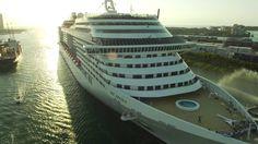 MSC Divina's Arrival to PortMiami.