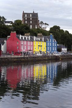 Tobermory, Isle of Mull. Or as its better known Balamory from the kids TV show. Been to balamory