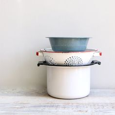Vintage Enamelware and Graniteware Collection by ethanollie, $29.00