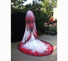 Bloody Vampire Countess Bride Southern Belle by ChaoticCouture22