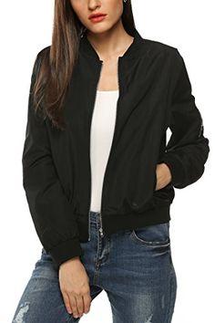 Bomberjacke schwarz Fashion