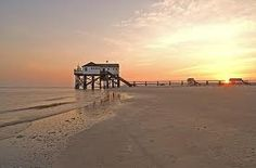 st. peter ording, nordsee, germany