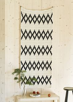 Nordic living with Novita, Crochet carpet made with Novita Eco Tube yarn #novitaknits https://www.novitaknits.com/en
