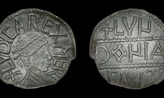 A treasure hunter who found a coin will have history books rewritten after spending three years proving it was genuine. Anglo Saxon Chronicle, Silver Penny, Under The Hammer, Thing 1, Coins For Sale, Fallen London, Old Coins, History Books, Ancient History
