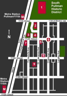 Historic District Site map