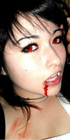 Red vampire Halloween contact lenses - Outstanding Marketplace, Better Shopping!